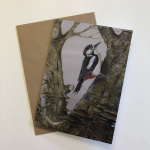 birds-cards-woodpecker-heart-of-the-forest-7x5