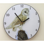 clock-birds-barn-owl